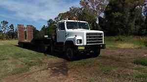 International s line prime mover  crane truck Alstonville Ballina Area Preview