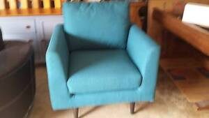 BLUE FABRIC CHAIR Erskine Park Penrith Area Preview