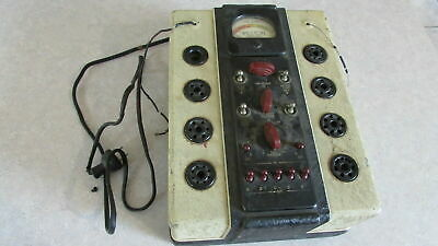 Vintage Weston Model 770 Tube Tester Checker 1930s 1935 Electrical Instrument