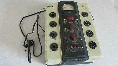 Vtg Weston Tube Tester Model 770 Checker 1930s 1935 Electrical Instrument Meter