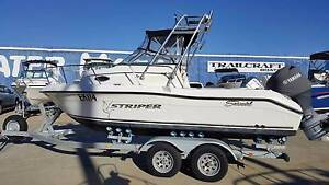 2003 SEASWIRL 1851 STRIPER WALKAROUND. South Fremantle Fremantle Area Preview