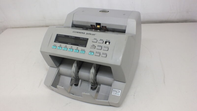 Cummins Allison JetScan 4065 Mixed Cash Counter With Counterfeit Detection