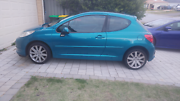 08 Peugeot 207 GT 1.6 Turbo Low KMs Baldivis Rockingham Area Preview