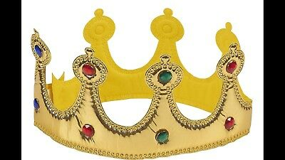 Halloween Cosplay Idea (Gold Foil Ball Crowns. Halloween Costume Ideas Be A King Or Queen)