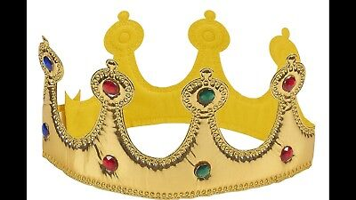 Gold Foil Ball Crowns. Halloween Costume Ideas Be A King Or Queen Cosplay