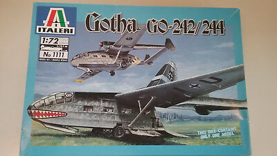 1/72 scale Italeri Models Gotha GO-242/244 WWII German  Transport