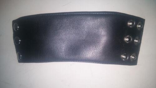 100%Genuine lambskin Leather Wristband Bracelet Cuff Unisex Wallet Hidden Pocket