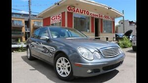 Mercedes E-320 CDI 2005 showroom condition Faut voir