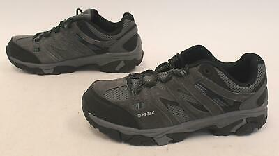 Hi-Tec Men's Breathable Leather Jason Low Hiking Shoes HD3 Gray Size US:10M