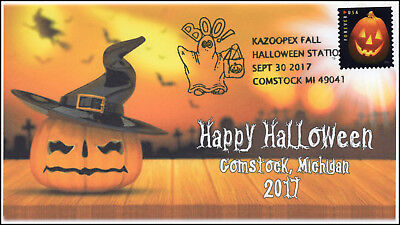 17-277, 2017, Kazoopex Fall Halloween, Comstock MI, Event Cover, Pictorial Cance - Halloween 2017 Events