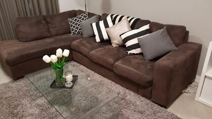 Corner Lounge with chaise Fortitude Valley Brisbane North East Preview