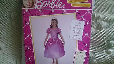 Mädchen Barbie  Kostüm gr.116 . Neu ovp Günstig