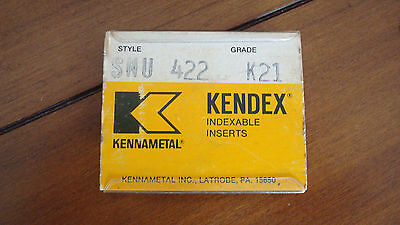 Kennametal Indexable Inserts Snu 422 K21 - Box Of 10