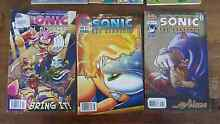 Comic Books - Sonic & Bart Simpson Palm Cove Cairns City Preview