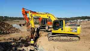 Wet Hire Excavators Available All Sizes Jimboomba Logan Area Preview