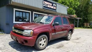 2004 Chevrolet TRAILBLAZER LS 4X4 CERTIFIED! ONLY $2999+ taxes