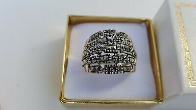 Beautiful Ladies Fine Estate Jewelry HSN Sterling Silver Gemstone Ring Size 11