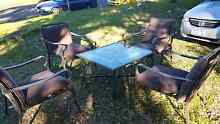 Outdoor table and chair set for sale Nowra Nowra-Bomaderry Preview