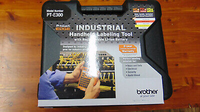 New Brother Pt-e300 Wiring Industrial Label Maker And Shrink Tube Printer Case