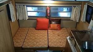 Caravan Poptop vintage van  annexe singles or double bed REDUCED Henley Beach South Charles Sturt Area Preview