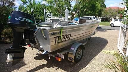 Blue Fin 4.2 Rogue Boat