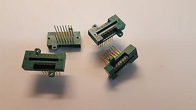 14-pin 3m Textool Zip Socket Receptacle 214-3592 Wirewrap Wscrews 14p 14pin Zif