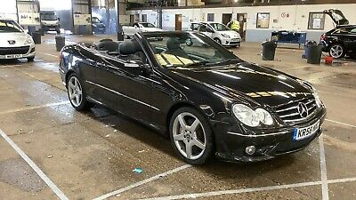 58 MERCEDES-BENZ CLK 200K AMG SPORT CONVERTIBLE, LEATHER, STUNNING SPEC & OPTION