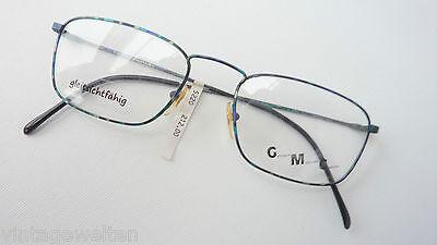 GMC by Trend Company dünnrandige Metallbrille Männerfassung farbig 52-20 size S