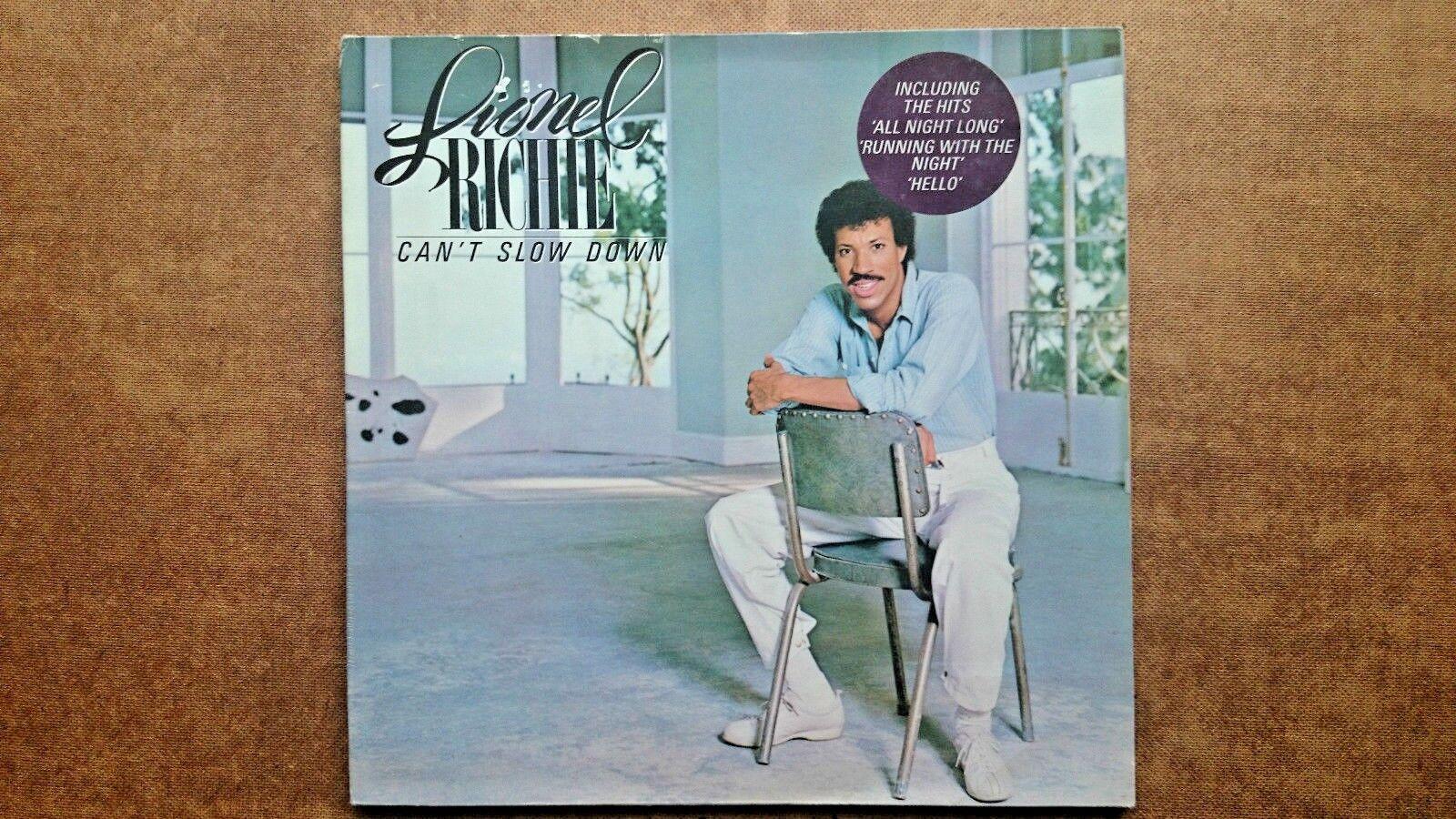 Lionel Richie:  Cant Slow Down (Vinyl Record LP 1983)