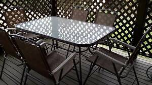Outdoor table and chairs Banyo Brisbane North East Preview