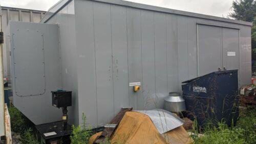 MTU GENERATOR SET CONTAINER BRAND NEW 3OOKW MERCEDES DIESEL