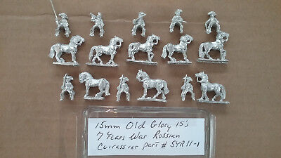 15mm Old Glory 7 Years War Russian Cuirassier ](11 Year Old Games)