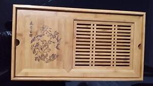 Oriental wood tea table Mascot Rockdale Area Preview