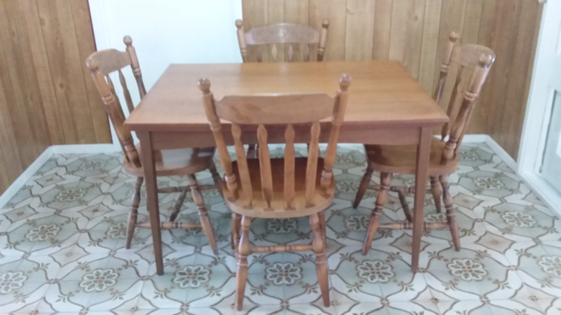 For Sale Dining Table 4 Chairs Dining Tables Gumtree Australia East Gippsland Paynesville 1264436184