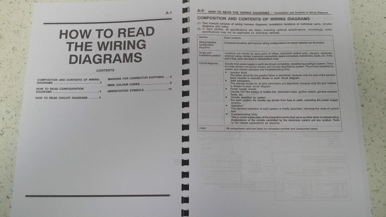 Mitsubishi Lancer Evo Iv V Electrical Wiring Manual Reprinted Diagram 1 Sur 3 2