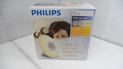 Philips Wake-Up Light with Sunrise Simulation, Oyster-white, HF3500