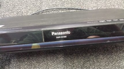 Panasonic dvd recorder and 500 gig hard drive Model No. DR XW380.