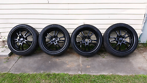 "18"" wheels 5x114.3 suit Ford hilux skyline subaru silvia drift Mayfield West Newcastle Area Preview"