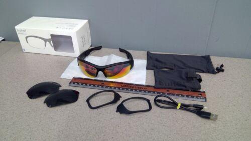 NEW buhel SGO5s sound glasses bluetooth bone conduction sunglasses in box.