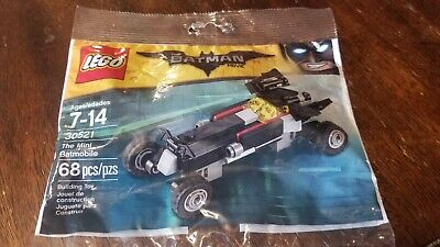 Lego The Batman Movie 30521 - Mini Batmobile Polybag - New - Sealed!