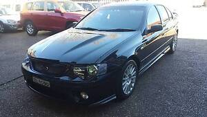2008 Ford Falcon XR8 BF MKII 07 Upgrade 6 Speed Manual Waratah Newcastle Area Preview