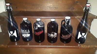Collectible Craft Beer Growlers - 1L Combo 2 Pack - Pick 2! Beer Growlers