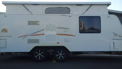 2011 Jayco Discovery 18ft with rear shower/toilet Northgate Port Adelaide Area Preview