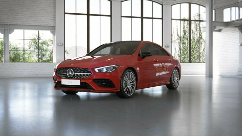 Mercedes-Benz CLA 180 AMG-Line/Night/Panorama/LED