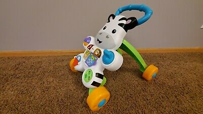 Fisher-Price Learn With Me Zebra Baby Walker Toddler - New