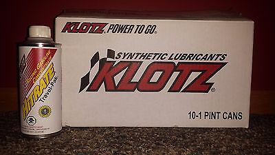 (1 Case of 10 Pints) HITRATE Travel Pac Klotz KL-452 Racing Gasoline Concentrate