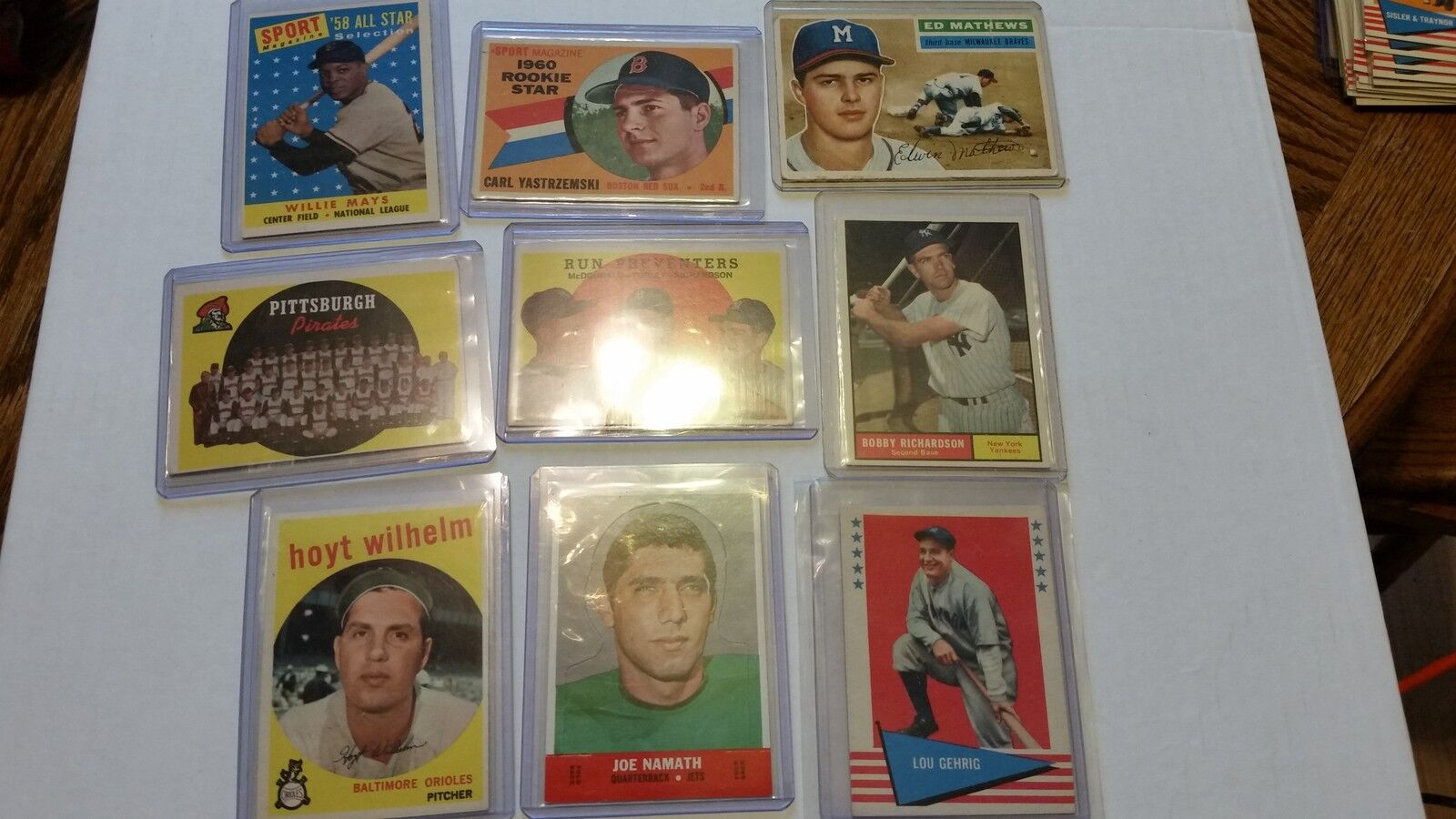 Merts sports cards