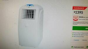 LARGE 5.5. KW PORTABLE AIR CONDTIONER - POLOCOOL WITH WINDOW KIT G.C.
