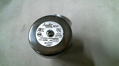 Apollo Avb2 38-204 34 Chrome Atmospheric Vacuum Breaker 125psi -free Shipping