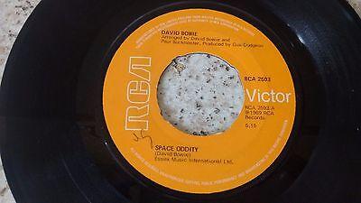 "DAVID BOWIE SPACE ODDITY 1977 RCA VICTOR 7"" 45 RCA 2593 comprar usado  Enviando para Brazil"